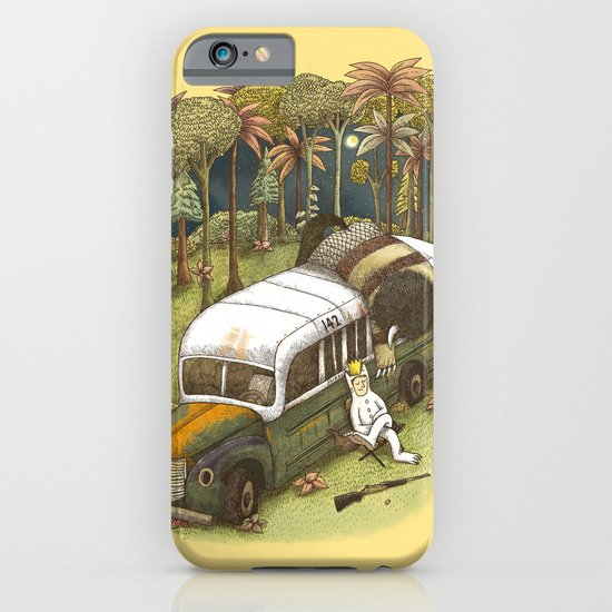 Into The Wild Things iPhone & iPod Case