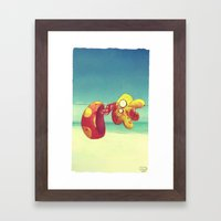 I Confused Things With T… Framed Art Print