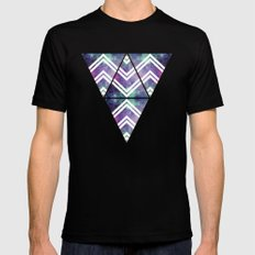 Spacey Mens Fitted Tee Black SMALL