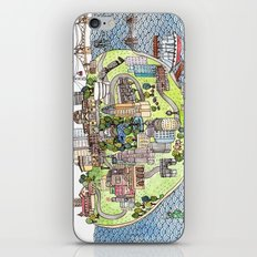 New York City Love iPhone & iPod Skin