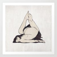 My Simple Figures: The T… Art Print