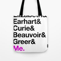 A Short List of Notable Ladies Tote Bag