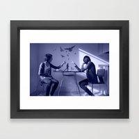 Blue Dreamer Framed Art Print
