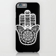 Black & White Hamsa Hand iPhone 6 Slim Case