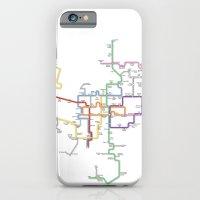 Minneapolis Skyway Map iPhone 6 Slim Case