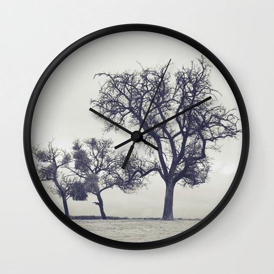 bleak trees... Wall Clock