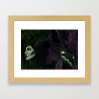 All the powers of HELL! Framed Art Print