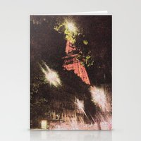 eiffel Stationery Cards featuring Eiffel by AZerhusen