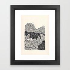 Mini Mountain  Framed Art Print