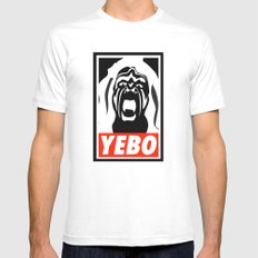 YEBO-UWS Mens Fitted Tee White SMALL