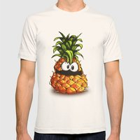 PINEAPPLE | ANANA Mens Fitted Tee Natural SMALL