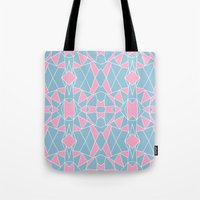 Abstraction Pink #2 Tote Bag