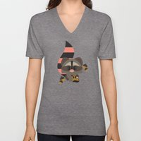Raccoon & Chipmunk Unisex V-Neck