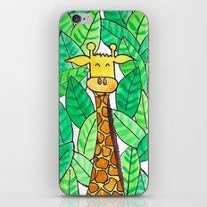 Watercolor Giraffe iPhone & iPod Skin