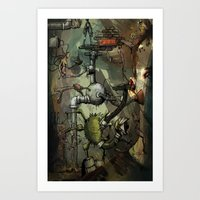 Dreamtime 1 Of 3 Art Print