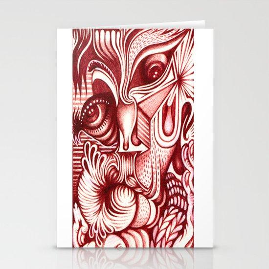 Sharp Senses & Soft Sensibilities Stationery Card