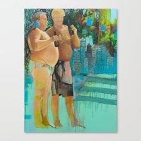 mister poppins Canvas Print