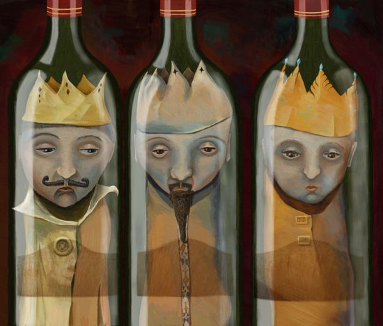 Bottled Kings Art Print