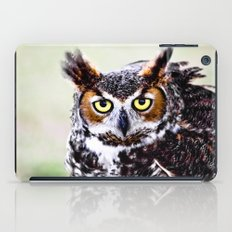 Great Horned Owl iPad Case