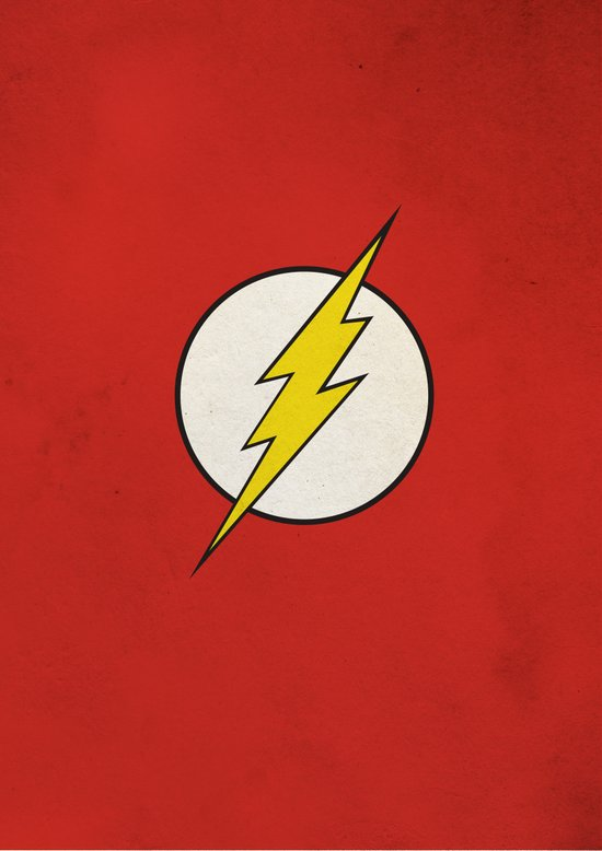 Flash Minimalist  Art Print