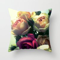 Lust Throw Pillow