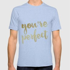 You're Perfect Mens Fitted Tee Athletic Blue SMALL