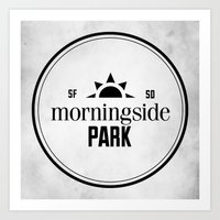 Morningside Park Art Print