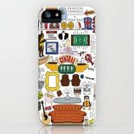 Collage iPhone (5, 5s) Slim Case