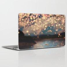 Love Wish Lanterns Laptop & iPad Skin