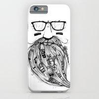 Beard Me Some Music (Bla… iPhone 6 Slim Case
