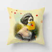 Another Portrait Disaster · Q1 Throw Pillow