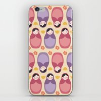 Russian Dolls iPhone & iPod Skin