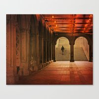 Bethesda Impression Canvas Print