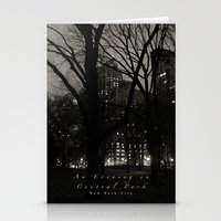 An Evening in Central Park, NYC Stationery Cards