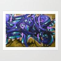 graffiti Art Prints featuring Graffiti by Fine2art