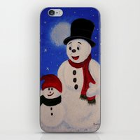 Hapy Holidays iPhone & iPod Skin