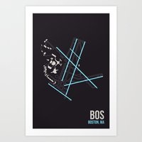 BOS Art Print