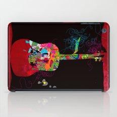 graphic guitar iPad Case