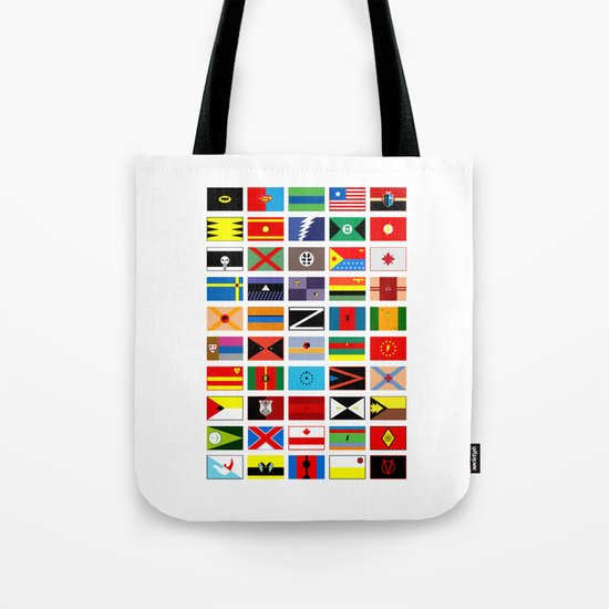 SH as flags Tote Bag