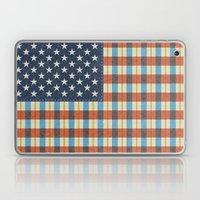 Plaid Flag. Laptop & iPad Skin