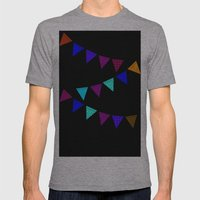 Hurray For Boys! Mens Fitted Tee Athletic Grey SMALL