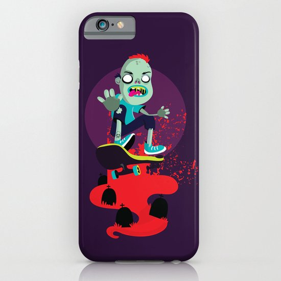 Skater zombie iPhone & iPod Case