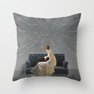 Melancolia Throw Pillow