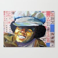 Young Mike Canvas Print