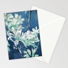 fresh blues Stationery Cards