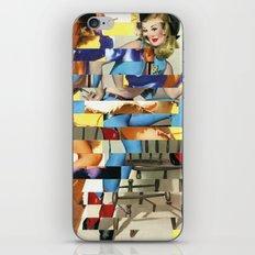 Glitch Pin-Up Redux: Yasmin & Yardley iPhone & iPod Skin