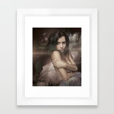 COSMIC FORCES Framed Art Print