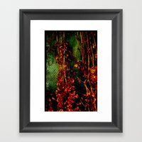 Electric Fall Framed Art Print