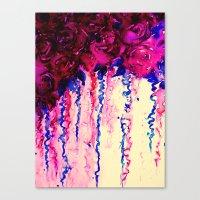PETALS ON PARADE, Oxbloo… Canvas Print