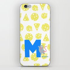 m for mouse iPhone & iPod Skin